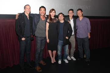 Walt Bost, Tim Chiou, myself, Director Viet Nguyen, Chris Dinh, and Jimmy Tsai