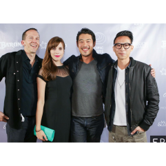 With the lovely Walt Bost, Tim Chiou, and Chris Dinh!